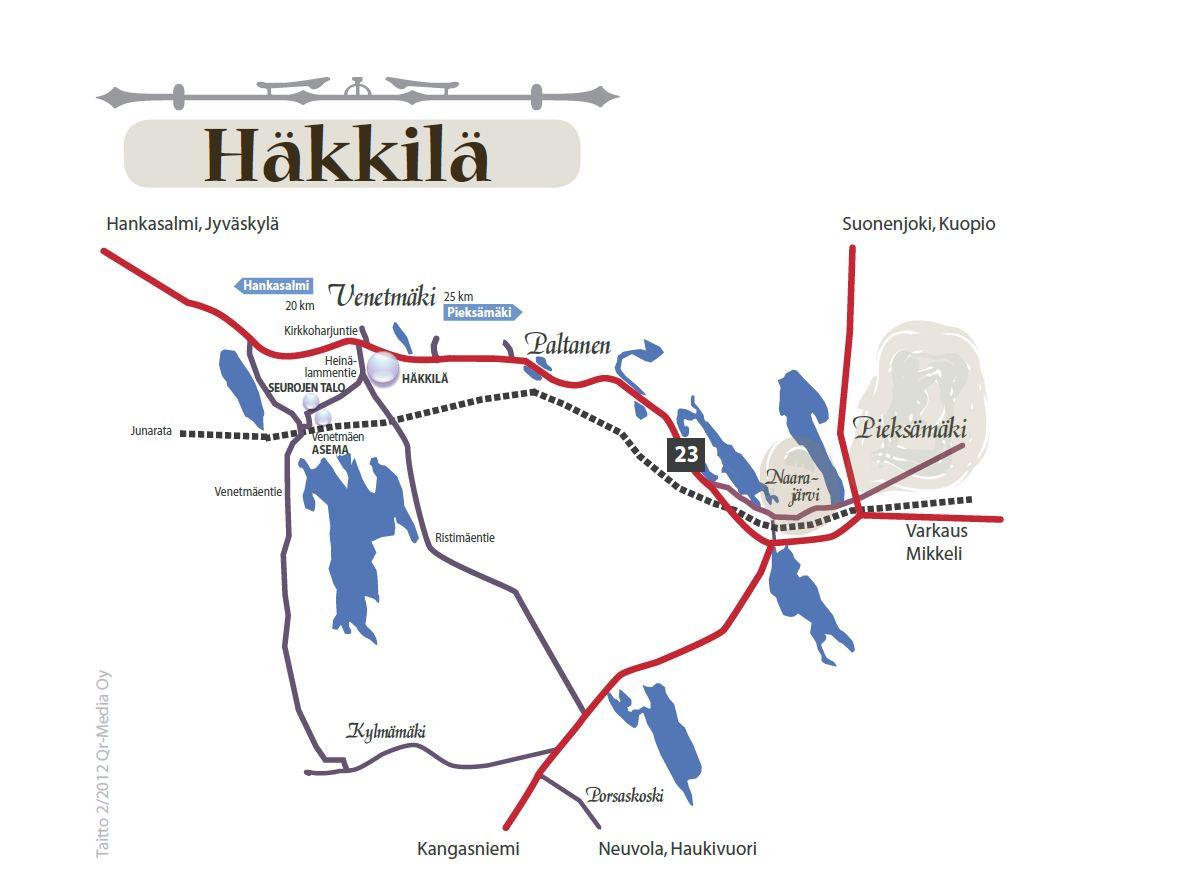 Kartta Häkkilä